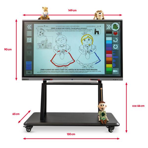 Interaktivní sestava SchoolBoard Lipáček 65 palců s příslušenstvím