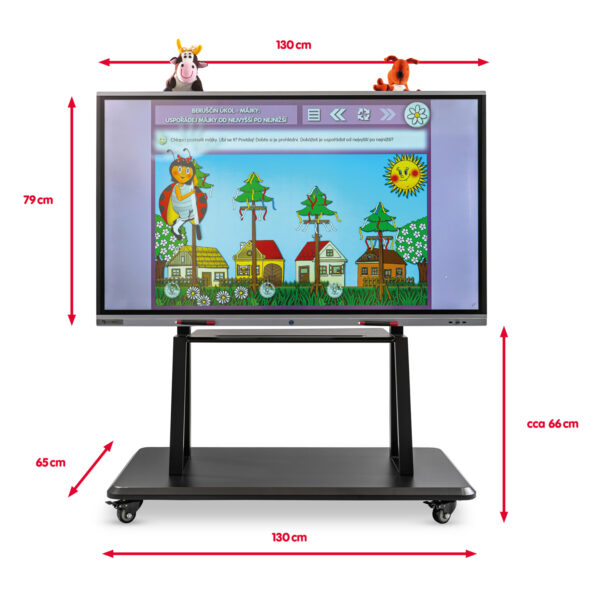 SchoolBoard sestava Všeználek 55 palců interaktivní tabule
